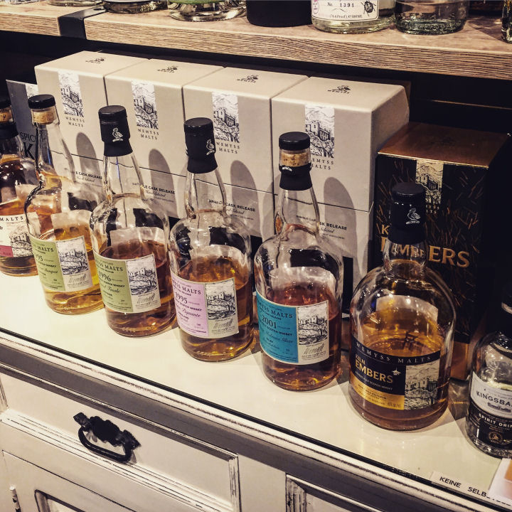 BarleyMania - Wemyss and Kingsbarns German Tasting Tour 2016 - Bottles