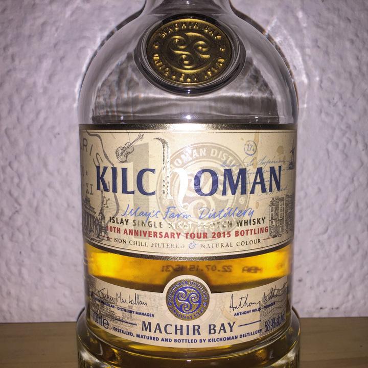 BarleyMania - Kilchoman Machir Bay - Tour Edition 2015 (Single Malt Scotch Whisky Review Tasting Notes Isle of Islay Heavily Peated Cask Strength Limited)
