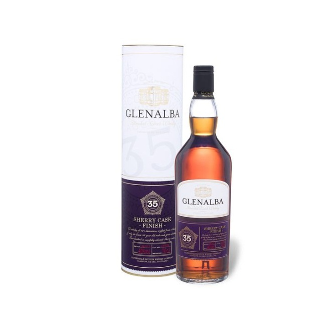 Glenalba 35yo Sherry Cask Finish (Barley Mania Blended Whisky Scotland Scotch Lidl Old)