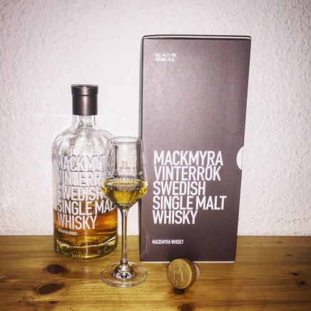 Mackmyra Vinterrök (Barley Mania Swedish Svensk Whisky Single Malt Seasons)