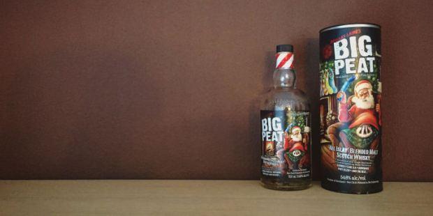 Big Peat - Christmas Edition 2016 (Douglas Laing Blended Islay Scotch Whisky Bowmore Ardbeg Coal Ila Bruichladdich Laphroaig Kilchoman Bunnahabhain Heavily Peated Whisky)