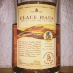 Blaue Maus Single Cask Malt Whisky (Fleischmann German Whiskey Bourbon Dram Drinking Review Bottle BarleyMania)