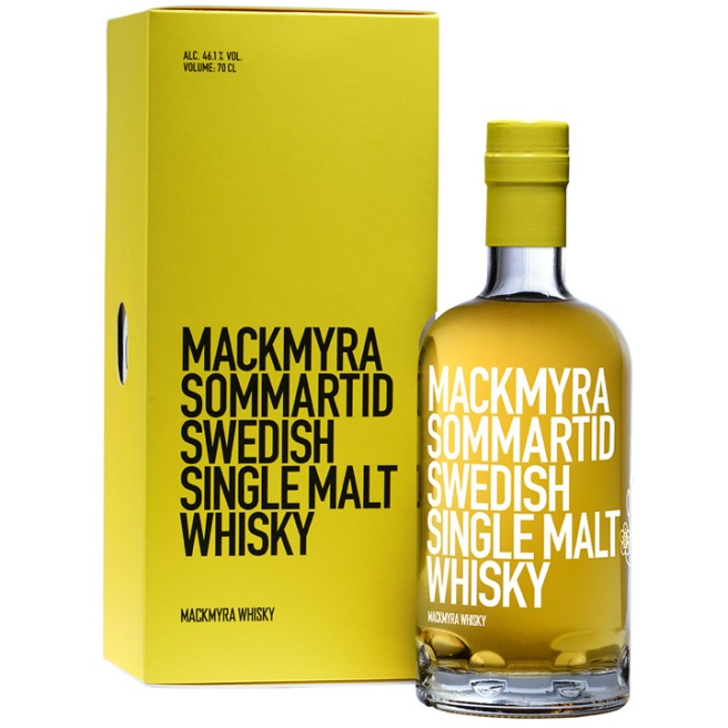 Mackmyra Sommartid (Swedish Svensk Single Malt Whisky Dram Tasting Notes BarleyMania)