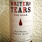 Writers Tears Red Head (Irish Single Malt Whiskey Dram Drink Sherry Oloroso Cask BarleyMania)