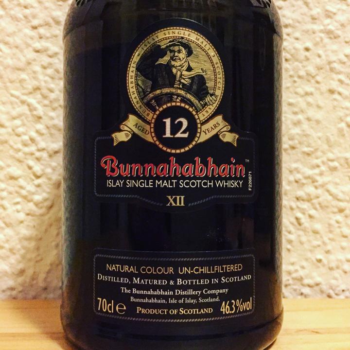 Bunnahabhain 12yo (Single Malt Scotch Whisky Islay Unpeated Gentle Spirit Dram Tasting Notes BarleyMania)