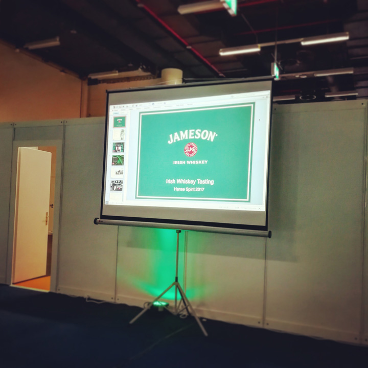 The Maker's Series by Jameson - Tasting (Hanse Spirit 2017 Pernod Ricard Irish Whiskey Dram Whisky Blog BarleyMania)
