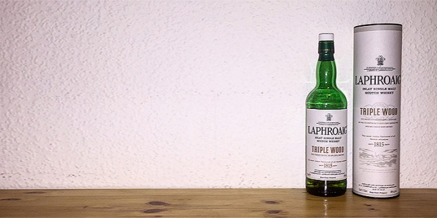 Laphroaig Triple Wood (Islay Single Malt Scotch Whisky Peated Dram BarleyMania Tasting Notes)