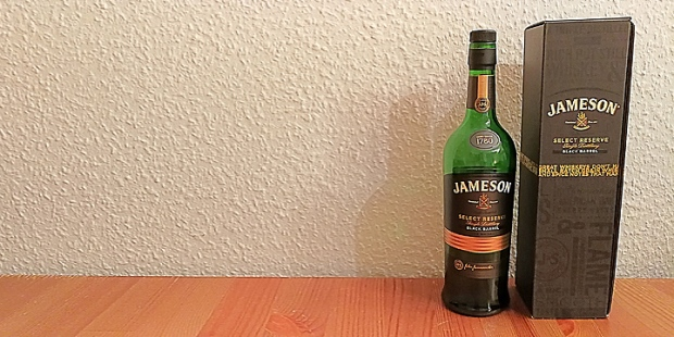 Jameson Select Reserve Black Barrel (Irish Whiskey Dram St. Patrick's Day Drink BarleyMania)