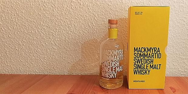 Mackmyra Sommartid (Swedish Svensk Single Malt Whisky Dram Tasting Notes BarleyMania)