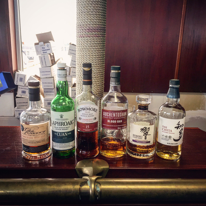 Beam Suntory Masterclass with Gordon Dundas (Chita Hibiki Auchentoshan Bowmore Laphroaig Glen Garioch Single Malt Scotch Whisky Tasting Event BarleyMania)
