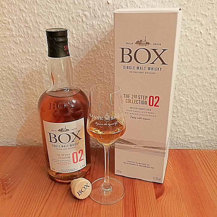Box Whisky The 2nd Step Collection 02 (Swedish Peated Single Malt Whisky Dram Tasting Notes BarleyMania)
