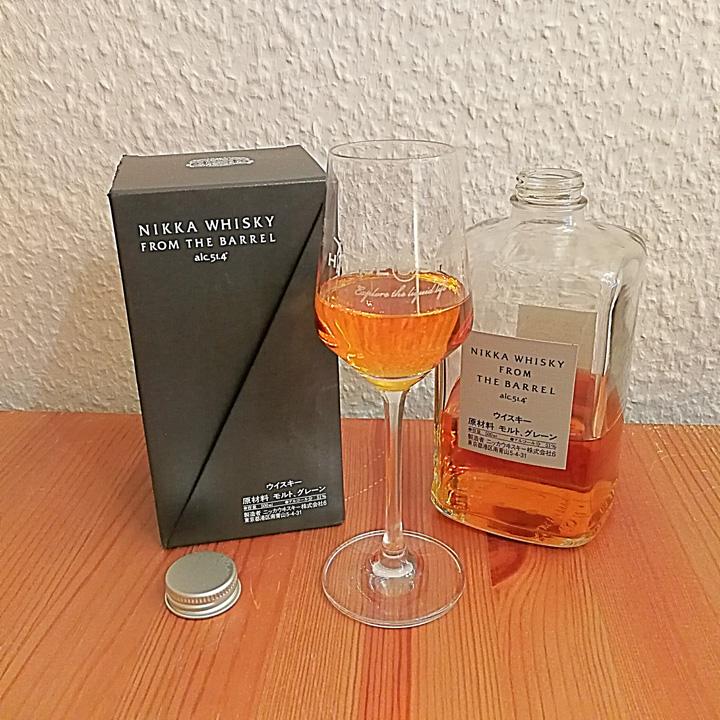 Nikka From The Barrel (Japanese Blended Malt Grain Whisky Exotic Tasting Notes BarleyMania)