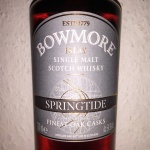 Bowmore Springtide (Islay Single Malt Scotch Whisky Oloroso Sherry Tasting Notes Review BarleyMania)