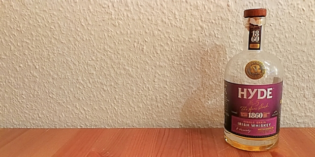 Hyde No5 Burgundy Cask Finish (Irish Single Grain Whiskey Ireland Dram BarleyMania)