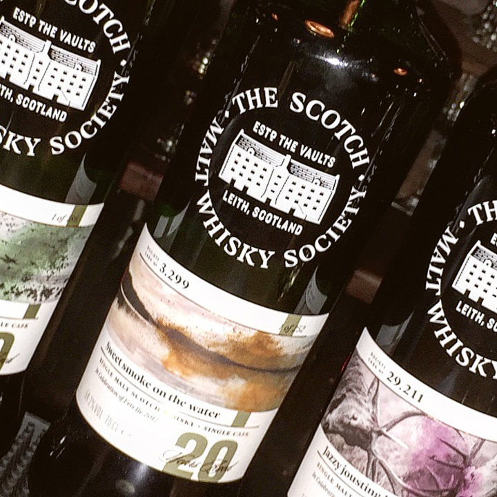 SMWS Feis Ile 2017 Whisky Flight (Islay Festival Cask Strength Limited Edition Scotch Bunnahabhain Bowmore Laphroaig Tasting)