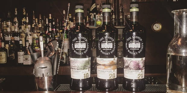SMWS Feis Ile 2017 Whisky Flight (Islay Festival Cask Strength Limited Edition Scotch Bunnahabhain Bowmore Laphroaig Tasting)