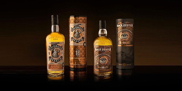 Timorous Beastie 18yo and Rock Oster 18yo (Remarkable Regional Malts Douglas Laing Blended Scotch Whisky Highlands Islands)