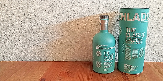 The Classic Laddie by Bruichladdich (Islay Single Malt Scotch Whisky Unpeated TastingNotes BarleyMania)