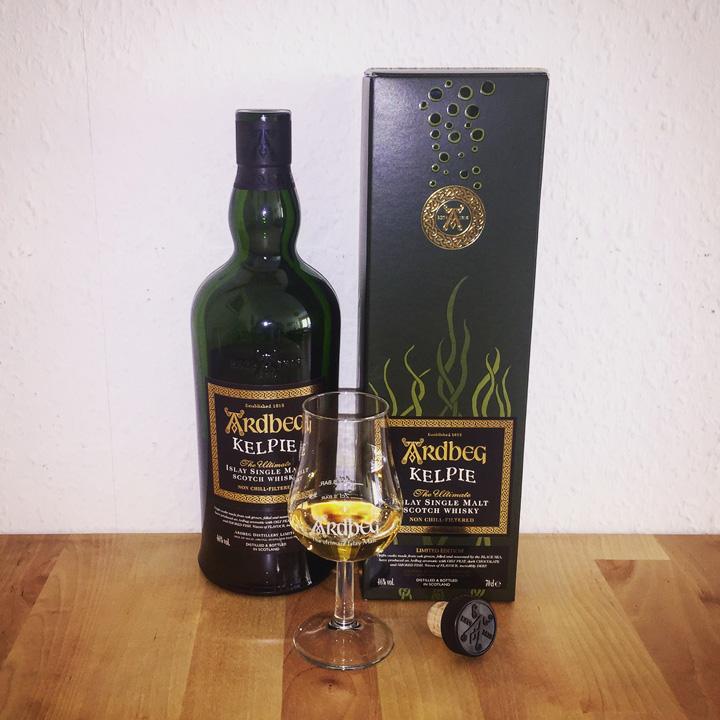 Ardbeg Kelpie (Limited Edition Islay Peated Single Malt Scotch Whisky Dram Tasting Notes BarleyMania)