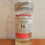 Tamdhu 16yo by Old Particular (Single Cask Scotch Malt Whisky Douglas Laing BarleyMania Tasting Notes)