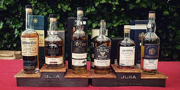 Whisky Tasting at Helgoheiner's (Single Malt Scotch Whiskey Bourbon Tasting Event Helgoland)