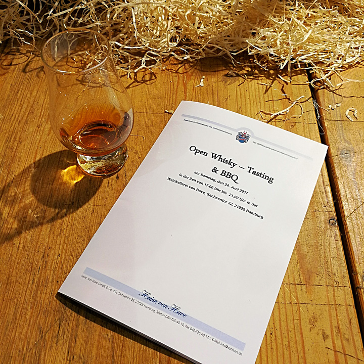 Open Tasting & BBQ at Von Have (Single Malt Scotch Irish Whiskey Blend Dram Event)