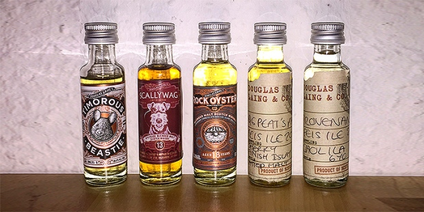 5 new Whiskies by Douglas Laing (Remarkable Malts Provenance Feis Ile Blended Malt Scotch Whisky Single Cask Tasting Notes)