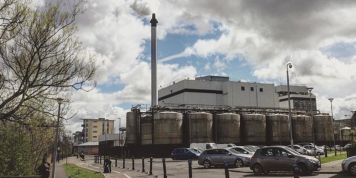Strathclyde Distillery in Glasgow (Grain Scotch Whisky Pernod Ricard Ballantine's Chivas Regal Visit)