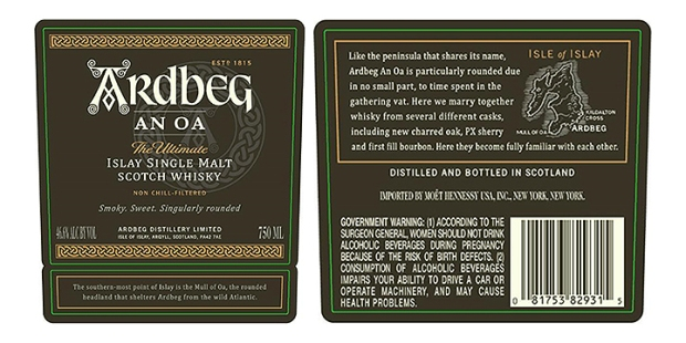 Ardbeg An Ao (Islay Peated Scotch Single Malt Whisky Distillery Core Range)