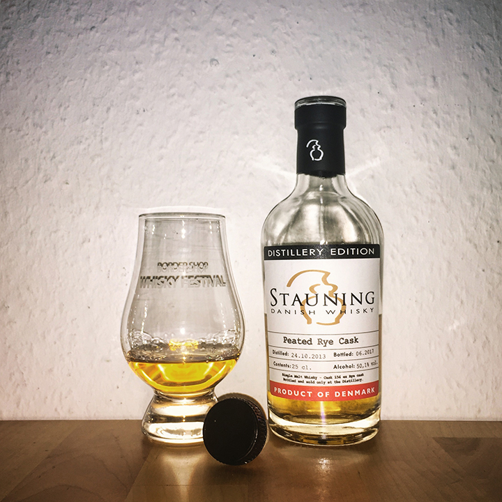 Stauning Whisky Distillery Edition (Peated Danish Single Malt Rye Cask Strength Tasting Notes)
