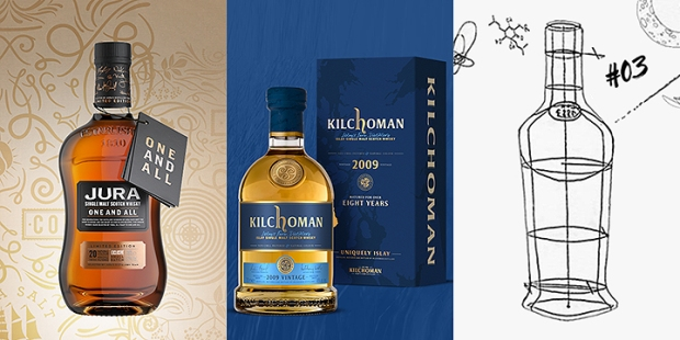 New Limited Editions by Jura, Kilchoman and Glenfiddich (Single Malt Scotch Whisky Islay Speyside)