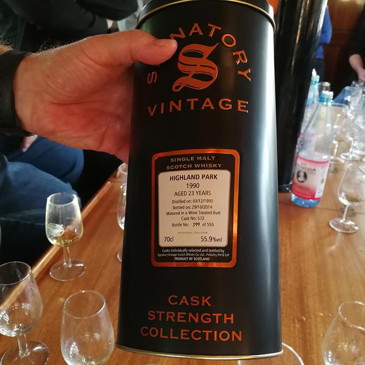 Signatory and Gordon MacPhail Tasting by Passion Whisky at Köpernicker Whiskyfest (Single Malt Cask Scotch Event Fair)