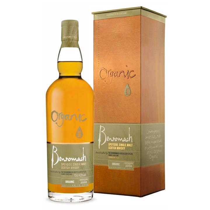 Benromach Organic (Speyside Single Malt Scotch Whisky Virgin Oak Casks Tasting Notes)