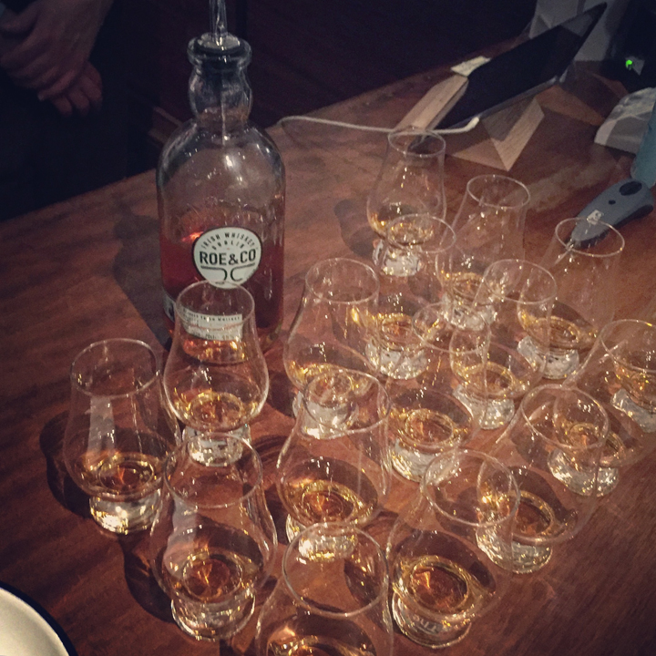 Irish Whiskey Special Tasting at Kittel's by The Whisky Jack (Kilbeggan Roe & Co Tyrconnell Tullamore DEW Irish Diamonds Connemara)