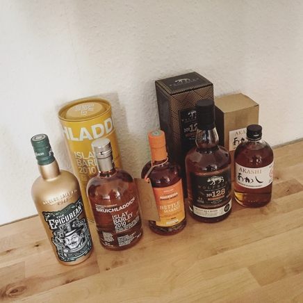 BarleyMania Birthday Bash '17 (Single Malt Scotch Whisky Blended Douglas Laing Bruichladdich Mackmyra Wolfburn Akashi Contest Giveaway Win Prize)