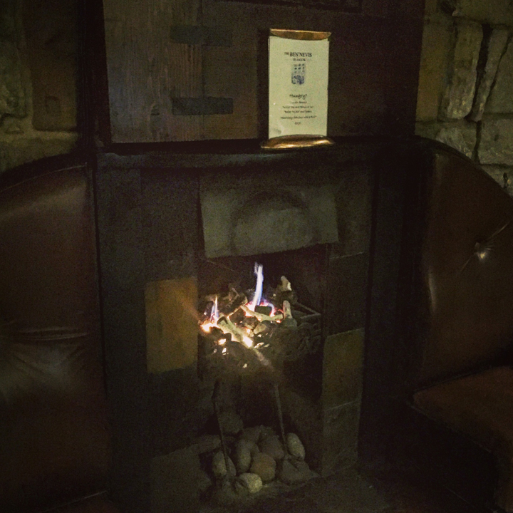 The Ben Nevis in Glasgow (Single Malt Scotch Whisky Bar Pub Travel Visit Afterwork Dram Dramming)