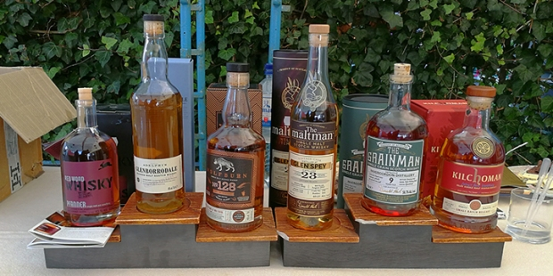 Scotch Whisky Tasting at Helgoheiner's on Helgoland (Pfanner Adelphi The Wolfburn The Maltman Grainman Kilchoman Single Malt Grain Event)