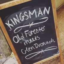 Old Forester meets GlenDronach