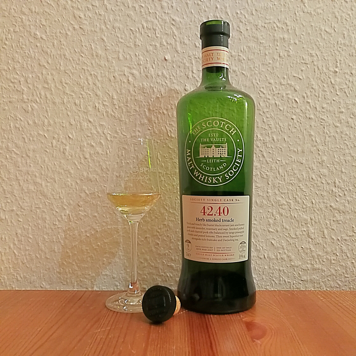 "Ledaig ""Smoked Herb Treacle"" by SMWS (Single Cask Strength Islands Mull Tasting Notes)"