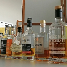 Nordish By Nature Tasting at Bottle Market (Swedish Danish Single Malt Whisky Stauning Mackmyra Box Floki Event)