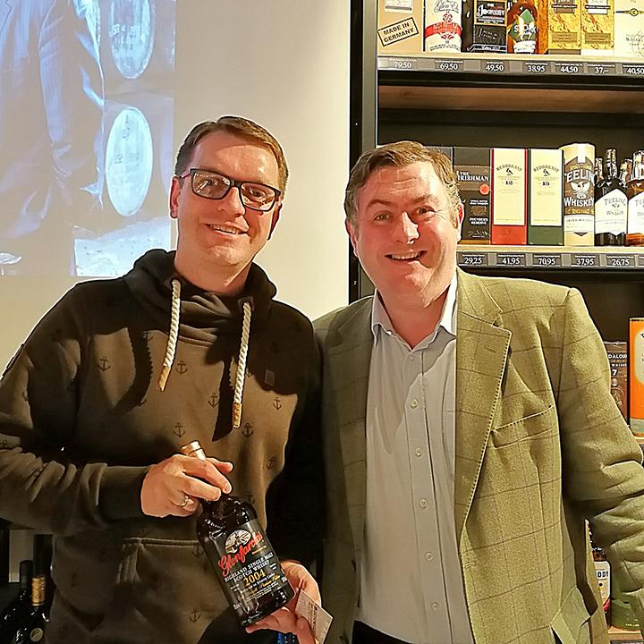 Glenfarclas Tasting with George S. Grant at Weinquelle Siek (Speyside Highlands Single Malt scotch Whisky Event)