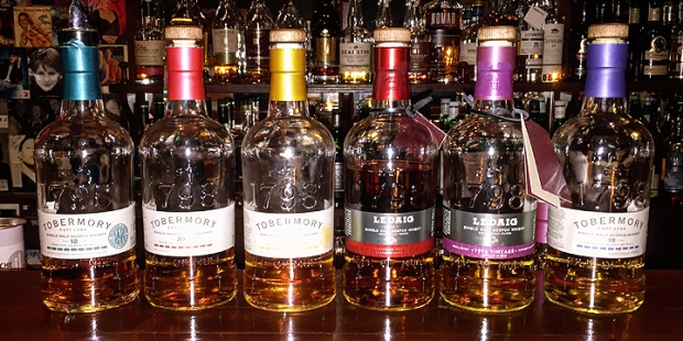 Tobermory and Ledaig Tasting at Christiansen's (Single Malt Scotch Whisky Isle of Mull Peated Rarity Event)