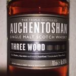 Auchentoshan Three Wood (Single Malt Lowlands Scotch Whisky Dram Sherry Oloroso Sherry Bourbon)