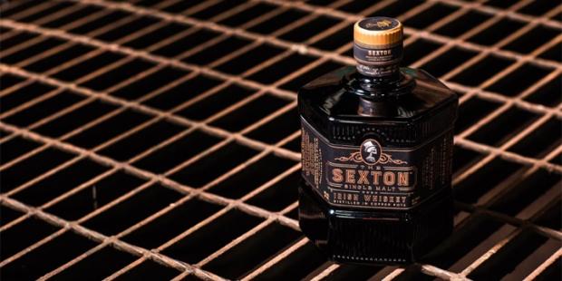 The Sexton Irish Single Malt Whiskey (US Launch Promixo Oloroso Sherry Release Dram Drink)