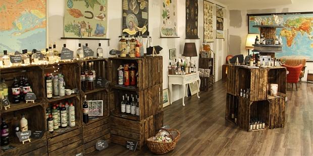 Buddel Jungs - New craft spirit store opening in Oldenburg (Gin Whisky Whiskey Liquor Rum Drinks)