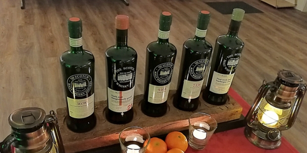 """Old and Rare"" Whisky Tasting by The Scotch Malt Whisky Society (Hansemalt Hamburg Ardbeg, Glen Grant Glenrothes Longmorn Clynelish)"