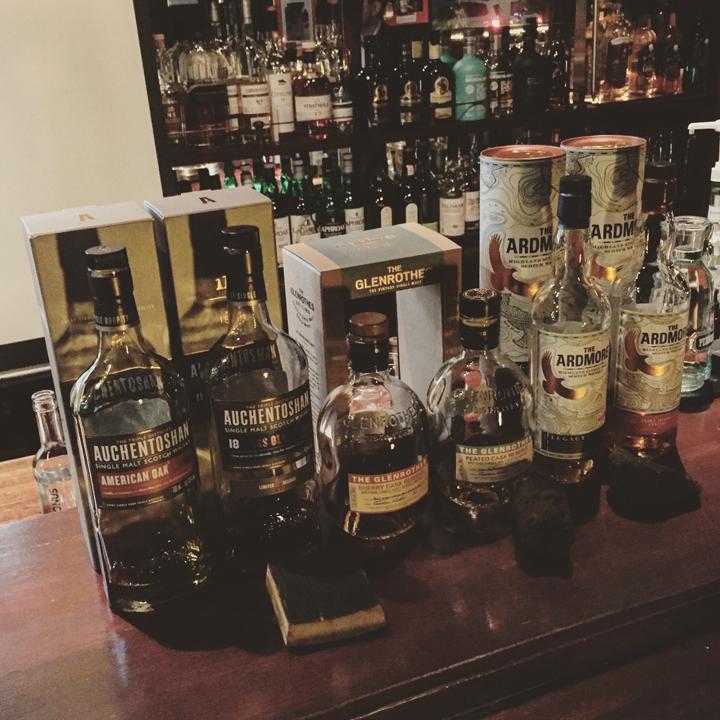 Beam Suntory Tasting with Auchentoshan, Glenrothes & Ardmore (Single Malt Scotch Whisky Event Lowlands Highlands Speyside Sherry)