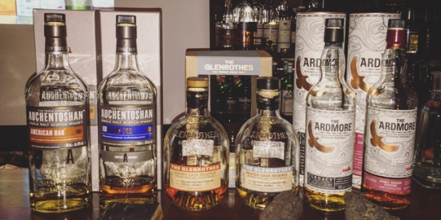 Beam Suntory Tasting with Auchentoshan, Glenrothes & Ardmore (Single Malt Scotch Whisky Event Lowlands Highlands Speyside Sherry)