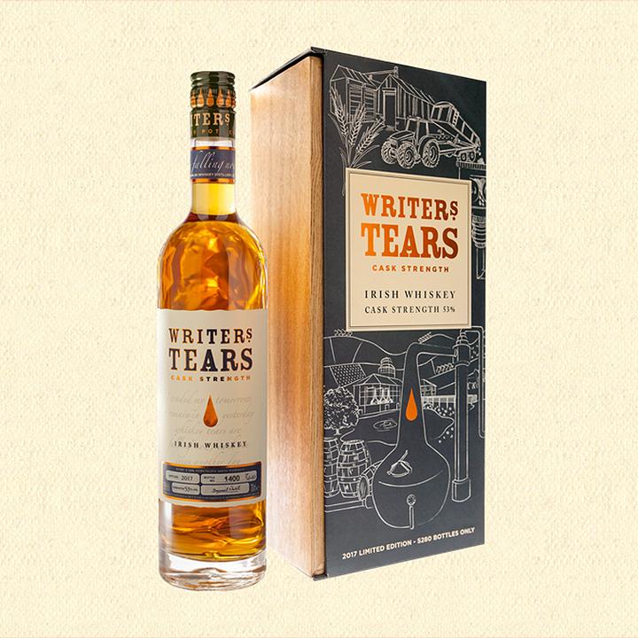 Writers Tears Cask Strength 2017 (Irish Whiskey Walsh Limited Edition Tasting Notes BarleyMania)