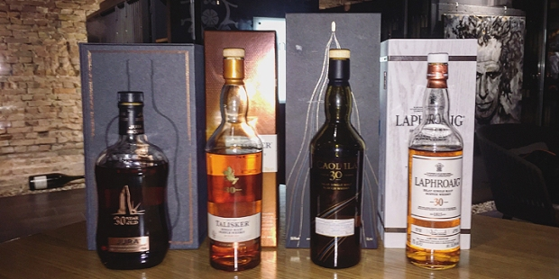 "Herr Lutz ""120 Years"" Whisky Masterclass (Single Malt Islay Island Scotch Event Laphroaig Caol Ila Talisker Jura)"